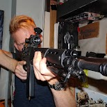 type 89, JSDF gun at hollow point tokyo - the Japanese gun bar in Tokyo, Tokyo, Japan