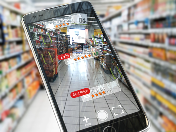 Using mobile phones for scanning products for personalized shopping to get more details on the product