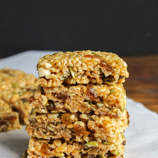 Rice Krispies Fruit and Nut Breakfast Bars