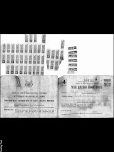 Photo: Patrick Alonzo Tillery's WWII War rationing card 1944