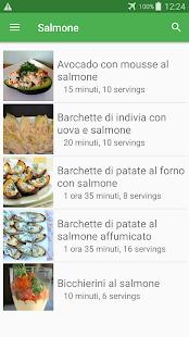 Salmone ricette di cucina gratis in italiano.