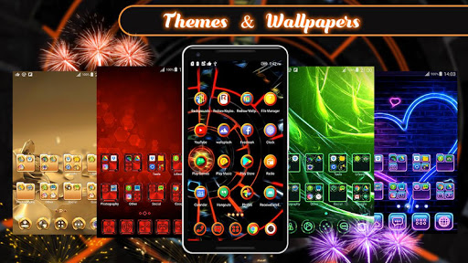 3D 2018 Theme For Android 1.284.1.47 screenshots 1