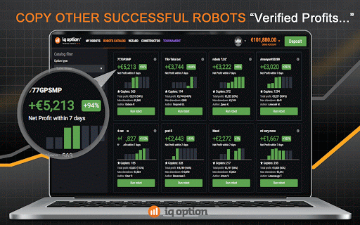 Binary trading robot for iq option