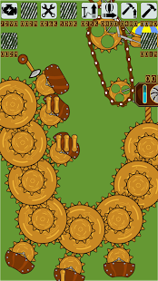 Steampunk Idle Spinner: cogwheels and machines (Un - náhled
