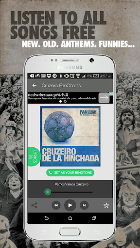 Cruzeiro Fans FanChants Free