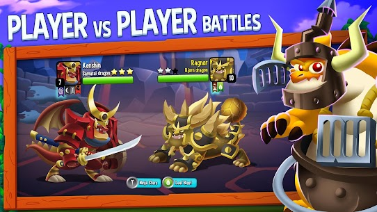 Dragon City MOD APK v9.7 (Unlimited Money,Coins & Food) 4
