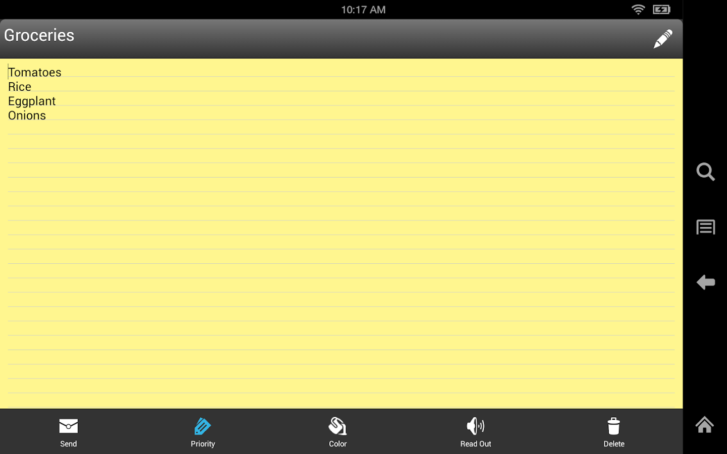 Ultimate Notepad- screenshot