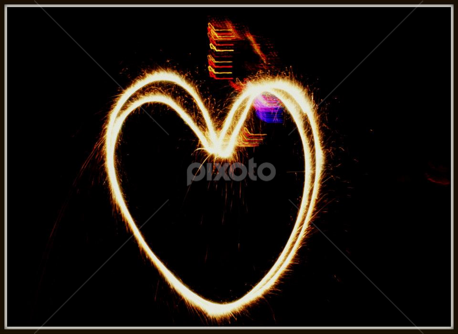Spread the Love.. <3 by Arjun Sehrawat - Abstract Fire & Fireworks