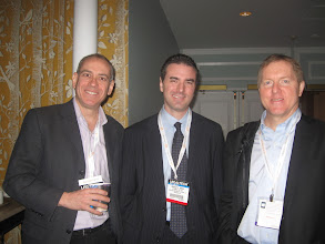 Photo: Eric Turkewitz, Bradley Shear and Kevin O'Keefe at the LTNY bloggers breakfast