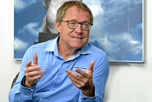 Dawie Roodt, chief economist at the Efficient Group Picture: RUSSELL ROBERTS
