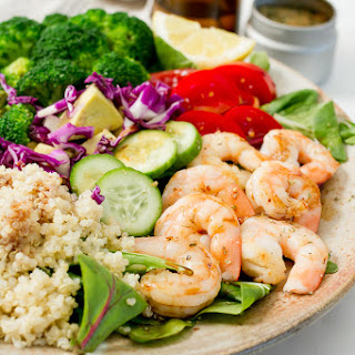 Clean Eating Shrimp Salad