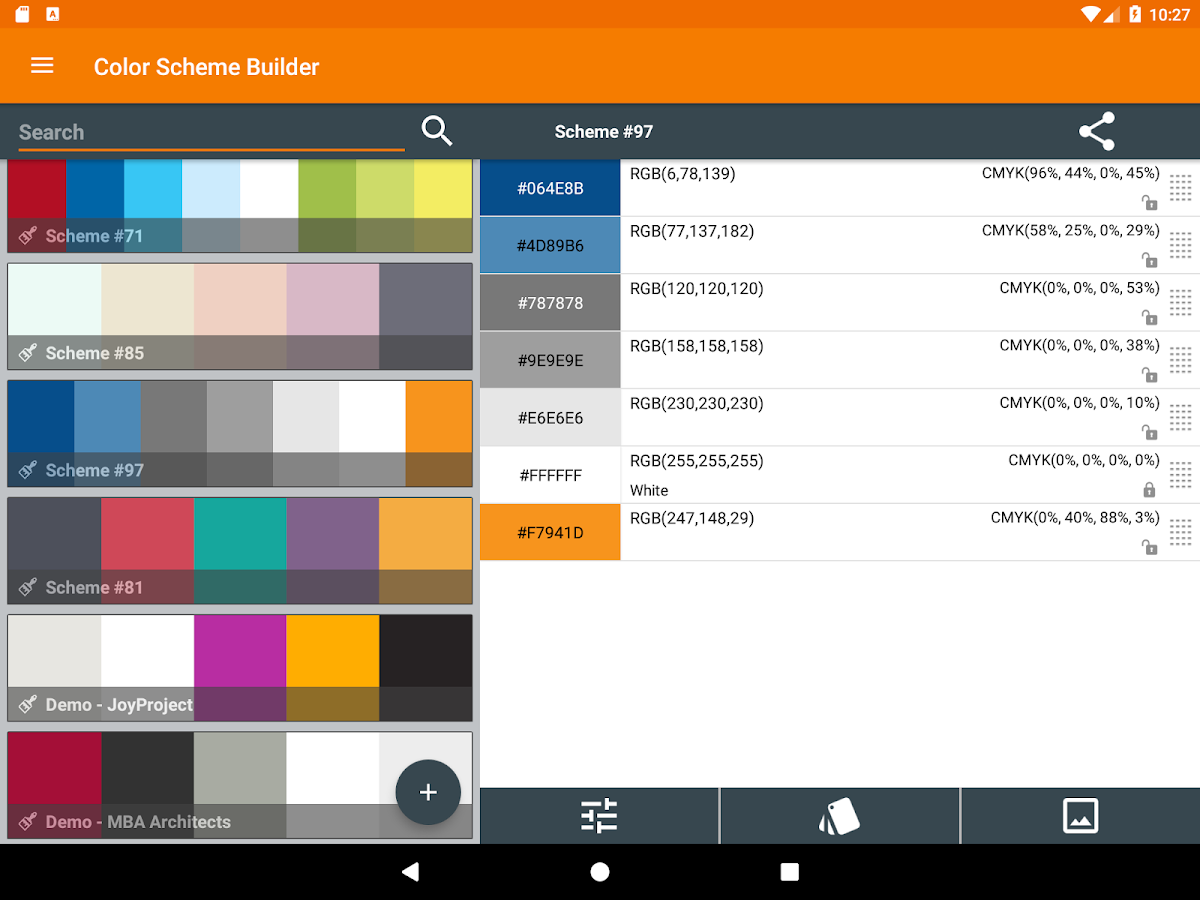Color Scheme Builder- screenshot