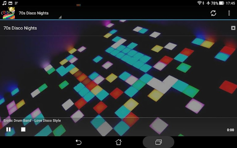 android Ultimate Disco Radio Screenshot 7