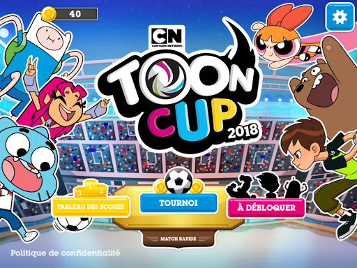 cofe tricheToon Cup 2018 - Le jeu de foot de Cartoon Network  1