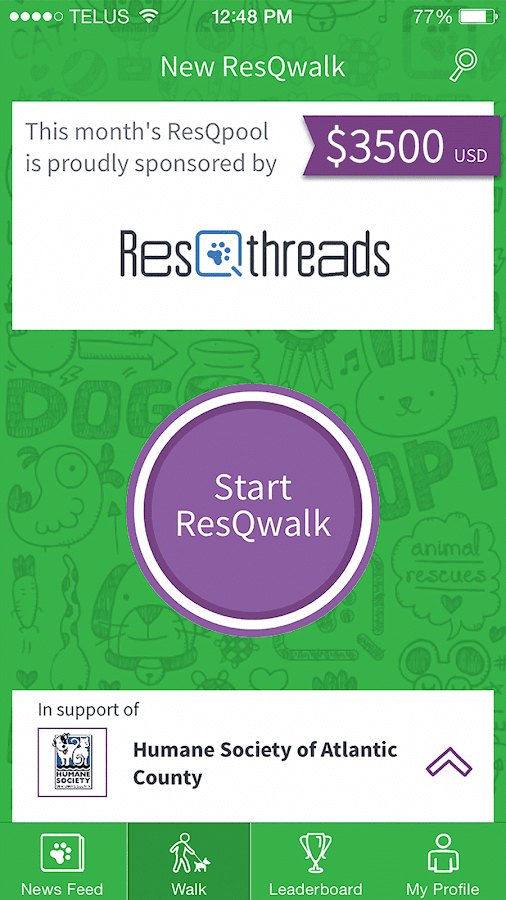 ResQwalk- screenshot