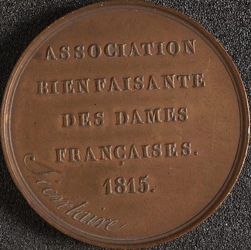 Copper medal inscribed the Secretary of the Associ