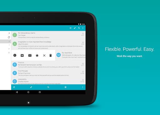 MobiSystems AquaMail - Email App 1.14.2-840 screenshots 8