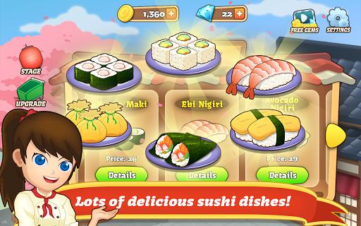 Sushi Fever - Cooking Game 1.13.1 screenshots 2