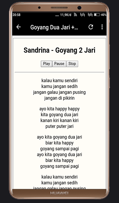 lagu goyang dua jari download