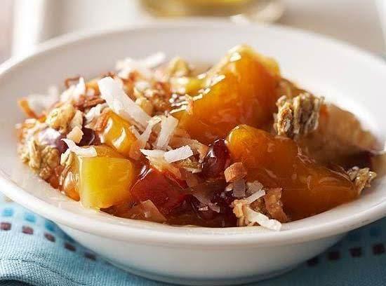 Tropical Apricot Crisp