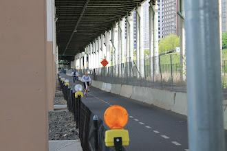 Photo: Bike path. Underneath Joe Maggio Highway