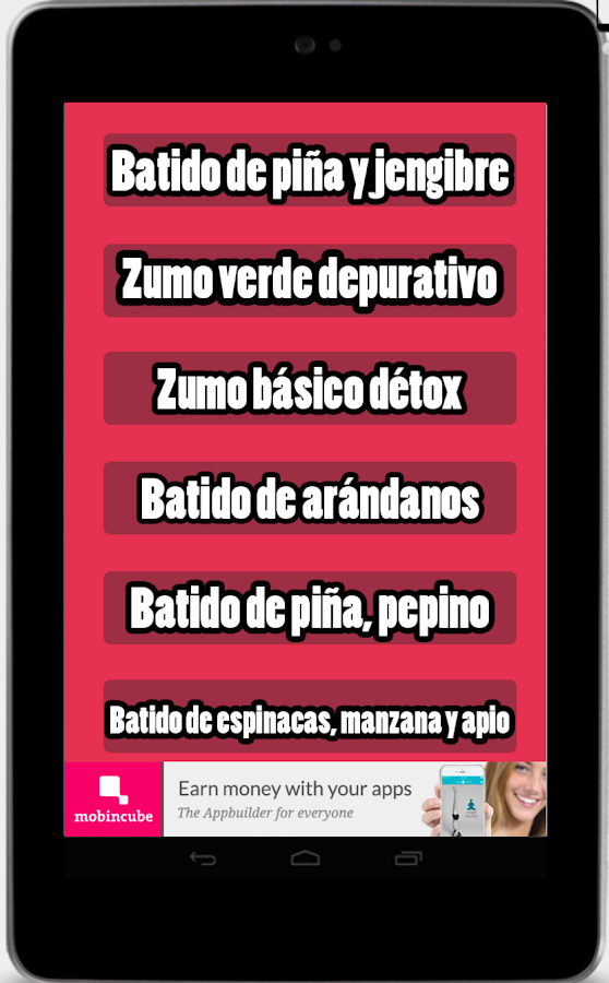Batidos Detox- screenshot