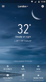 iWeather-The Weather Today HD for PC-Windows 7,8,10 and Mac apk screenshot 4