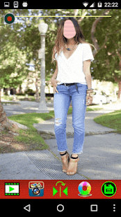Photo Montage - Women Jeans - náhled