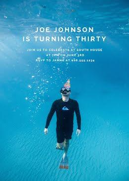 Joe's 30th Birthday - Birthday item