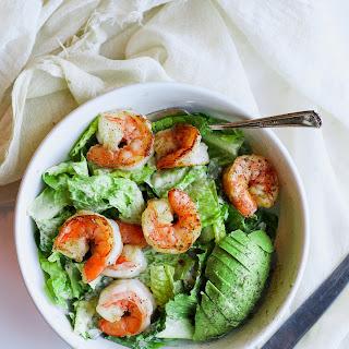 Easy Shrimp Caesar Salad (Whole30).