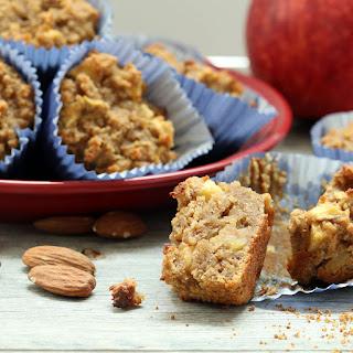 Apple Cake Muffins (Gluten-Free, Vegan, Refined Sugar-Free)