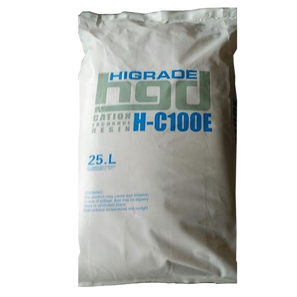 Смола ионообменная HIGRADE RESIN H-C100E