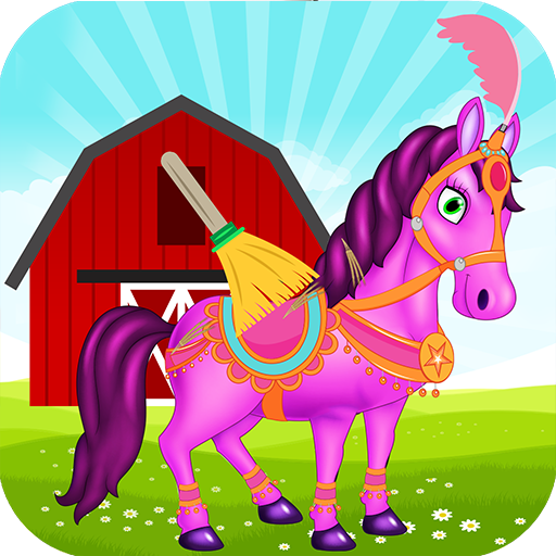 Princess Horse Cleanup and Care