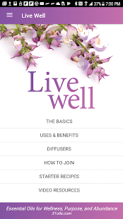 Live Well with Young Living Screenshot