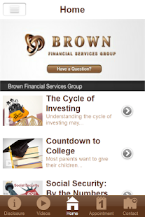 Brown Financial Services Group- screenshot thumbnail