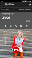 Screenshot of Silent Phone - private calls
