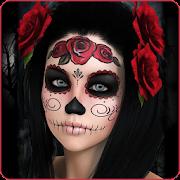 Halloween Makeup Photo Editor 2018 icon