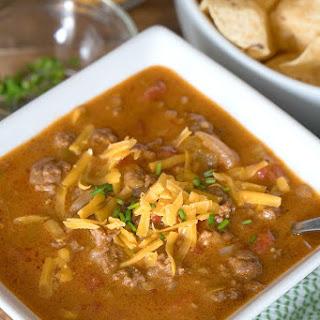 Instant Pot Nacho Soup.