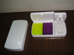 Photo: Pill Box with tablet cutter option
