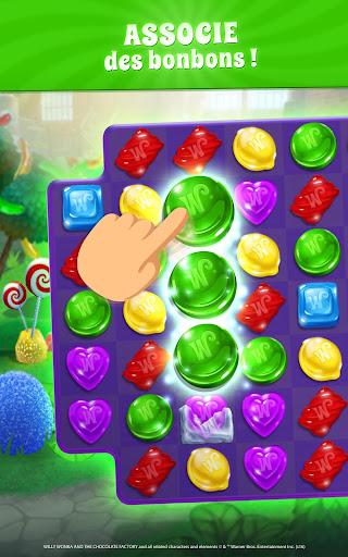 Wonka : Monde des Bonbons – Match 3  captures d'écran 2