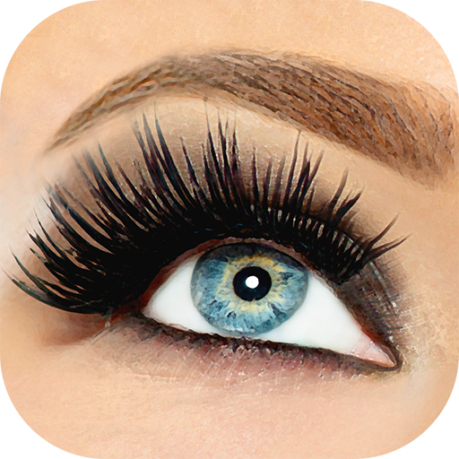 Eyelashes Photo Editor - Face Beauty Makeup