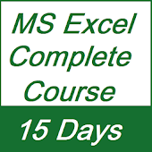 Learn MS Excel Full Course in 15 Days