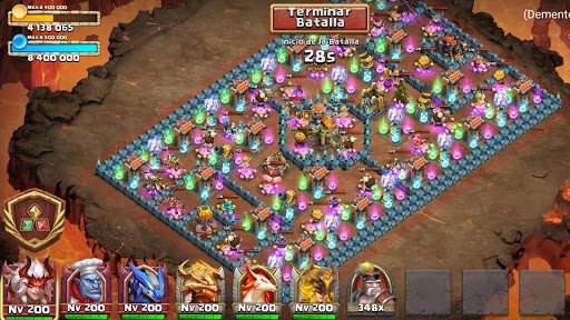 Castle Clash: Epic Empire ES  screenshots 16