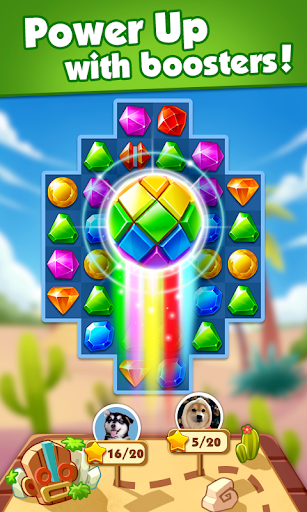 Download Jewel Adventure - Match 3 In Temple & Jungle For PC 2