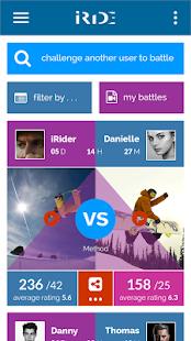 iRide Ski / Snowboard App - náhled