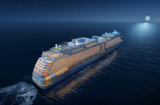 Discovery Princess debuts early 2022