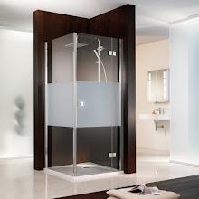 Duschkabinen_03 Atelier Drehtuer mit Seitenwand