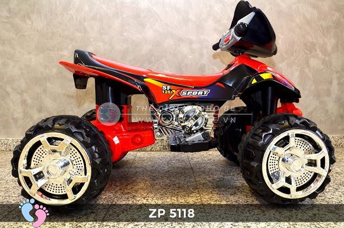 Xe moto điện trẻ em 4 bánh ZP-5118 5