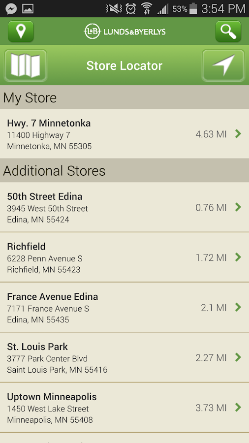 Lunds and Byerlys- screenshot