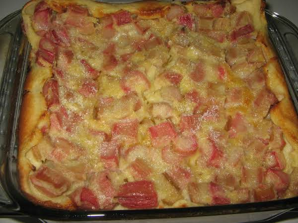 Rhubarb Custard Dessert Recipe